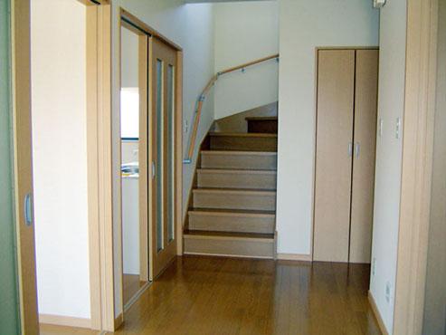 玄関ホール/階段